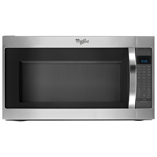 "Whirlpool 30"" Over-the-Range Microwave Hood Combo - 2.0 Cu. Ft. - Stainless Steel"
