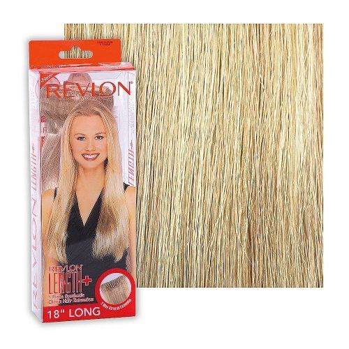 16 best beauty hair extensions wigs images on pinterest revlon length straight extension dark blonde by revlon 4499 all in one clip pmusecretfo Images