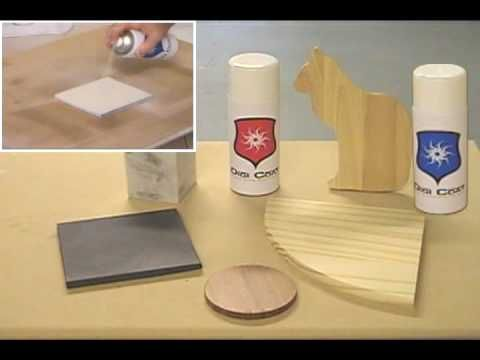 Overview of Digicoat coating for sublimation transfer printing on metal, glass, wood etc. - YouTube