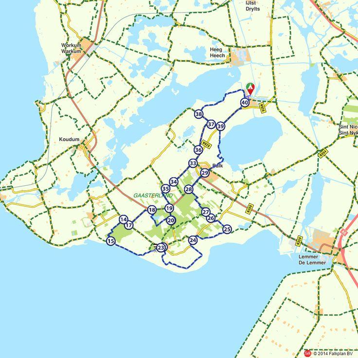 Fietsroute: Fietsen door de bossen van de Boswachterij Gaasterland  (http://www.route.nl/fietsroutes/146788/Fietsen-door-de-bossen-van-de-Boswachterij-Gaasterland/)