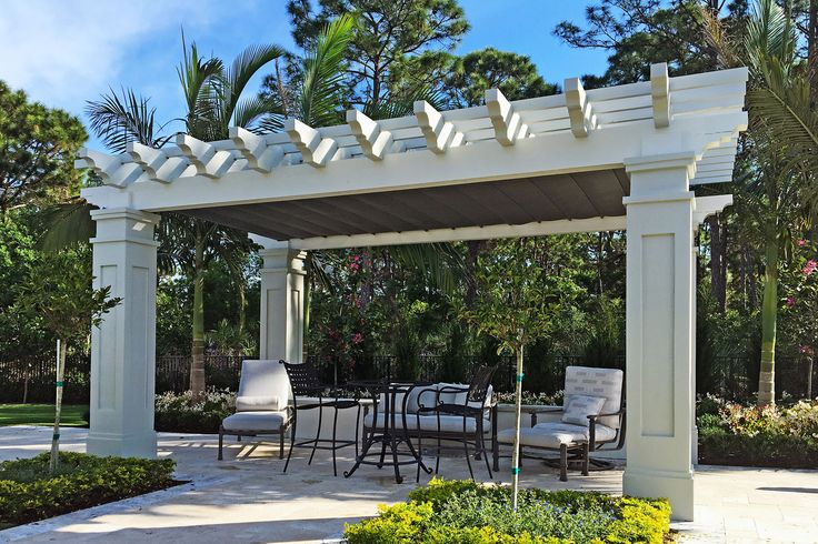 Retractable Shade, Palm Beach Gardens 1