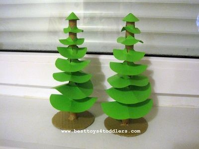 50 Green Christmas Crafts For Kids