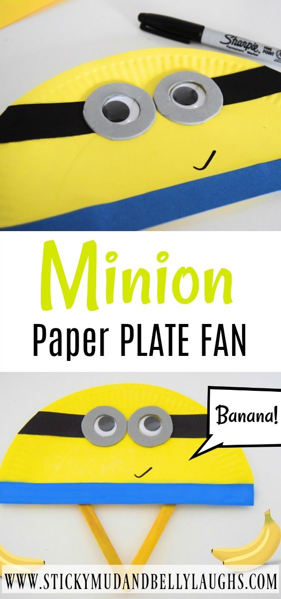 Who's going to see Despicable Me 3? The little yellow fellas are back and we LOVE them. So what did we make this week? It had to be a Minion craft!