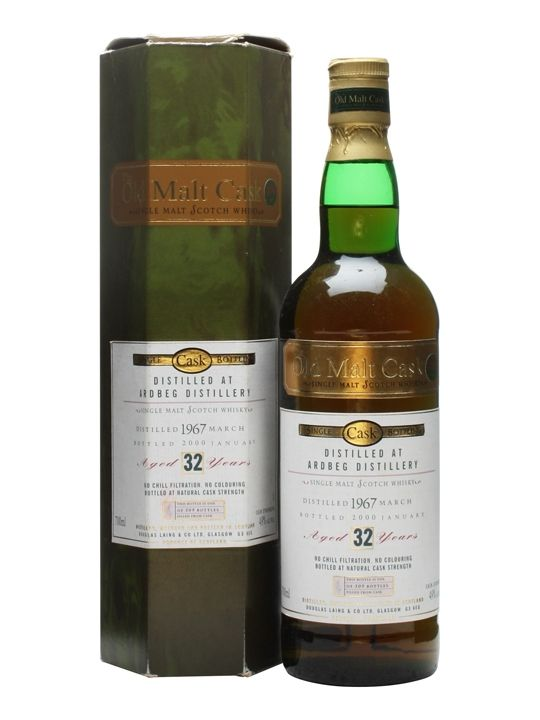 Ardbeg 1967 / 32 Year Old / Old Malt Cask Scotch Whisky : The Whisky Exchange