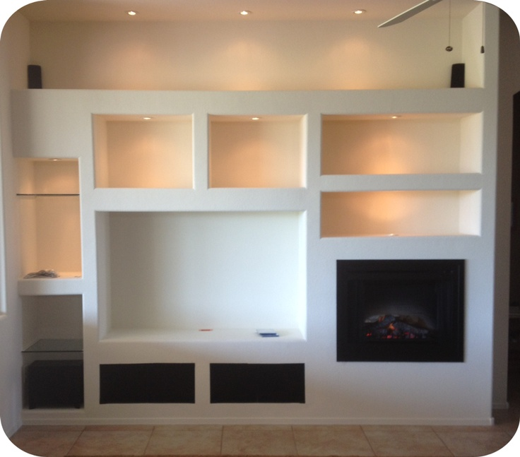 Basement entertainment center - Todd Whittaker Drywall, General Contractor