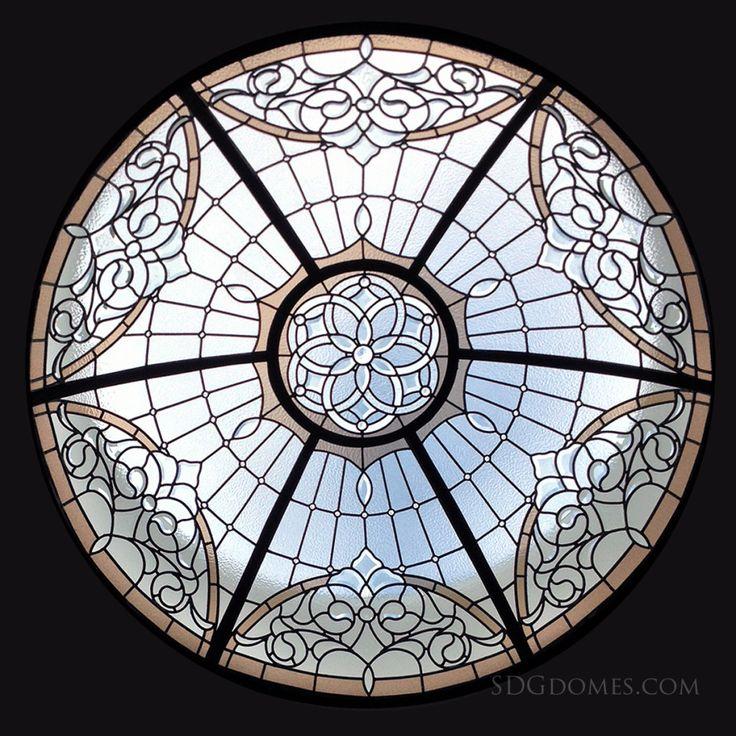 #leadedglassdome http://solariumglassdomes.com/
