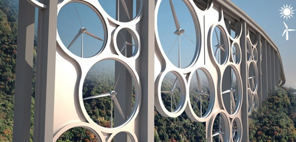 Wind Turbine Bridge Transform Into Public Space