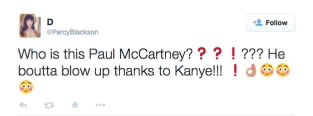 """These Kanye West Fans Want To Know: """"Who Is Paul McCartney?"""""""