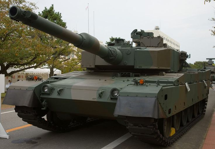 Najpotężniejsze czołgi na świecie - Typ 90 Japonia