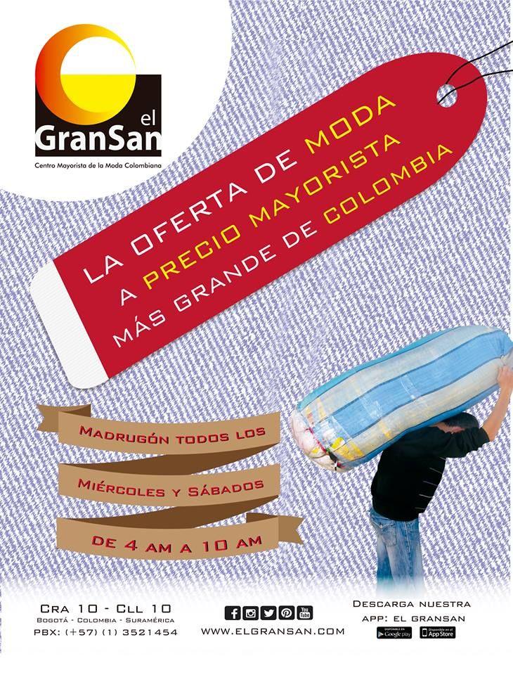 Surte tu negocio en el GranSan. Recuerda que mañana es Miércoles de Madrugón de 4 am a 10 am.  Te esperamos.  #YoAmoElGranSan