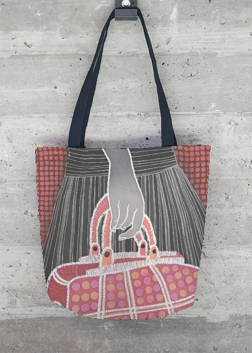 Cheap Shop For Statement Bag - Grey Patt Statement Bar 2 by VIDA VIDA Discount For Cheap KD4Hd6NMh