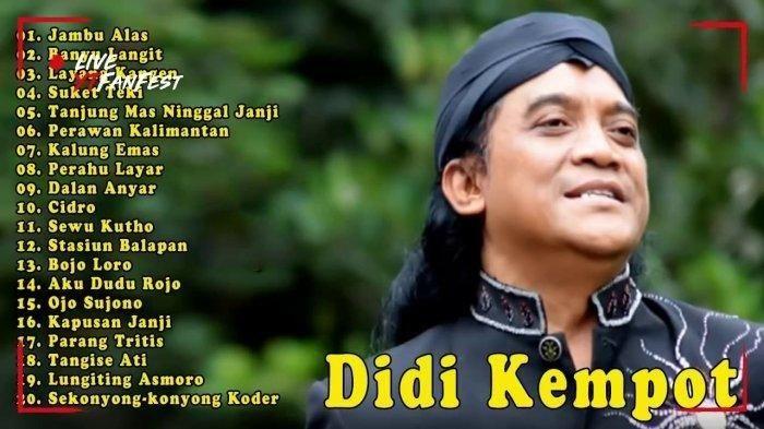 Kumpulan Lagu Didi Kempot Full Album Mp3 In 2020 Youtube Janji