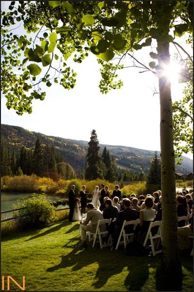 Ski Tip Lodge wedding ceremony in Keystone, Colorado http://www.inphotography.net