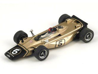 Lotus 56 B (Emerson Fittipaldi - Italian GP 1971) in Gold (1:43 scale by Spark S1766)