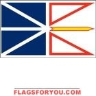3' x 5' New Foundland High Wind, US Made Flag