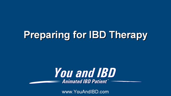 Please note: This slide show represents a visual interpretation and is not intended to provide, nor substitute as, medical and/or clinical advice.slide show: preparing for ibd therapy. this slide show describes ways patients with inflammatory bowel disease ibd can prepare for their therapy and medications.