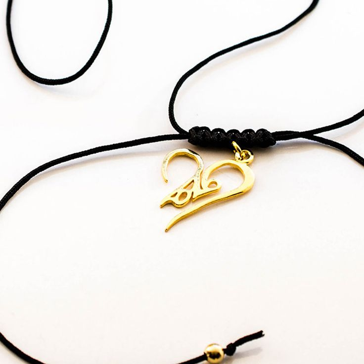 2016 #Lucky_charm #Necklace made from #Silver 925 in #gold #color