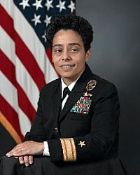 Rear Admiral Michelle J. Howard has been a trail-blazer throughout her entire career. She was the first African American woman to command a U.S. Navy warship, the first female graduate of the Naval Academy to achieve the rank of rear admiral, and the first African American woman to command an Expeditionary Strike Group at sea.    Howard reached another milestone Aug. 24, when she became the first African American woman promoted to three-star rank in the U.S. Armed Forces.
