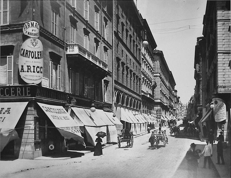 Roma, Via del Tritone (1895)