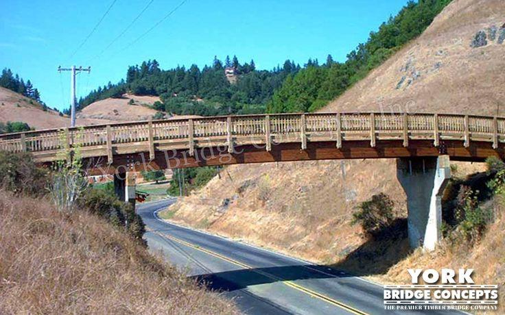 Timber Overpass Bridge: San Geromino Golf Course - San Geromino, CA