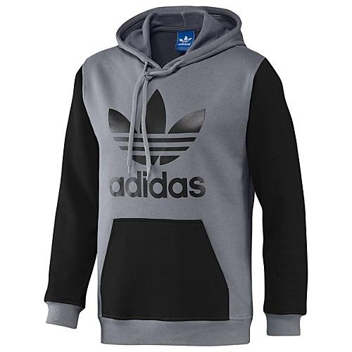adidas colorblock trefoil fleece hoodie hoodies pinterest adidas. Black Bedroom Furniture Sets. Home Design Ideas