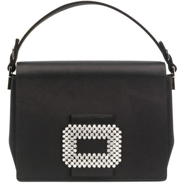 Roger Vivier Square Evening Bag With Chain (10 e35aa3eb7562f