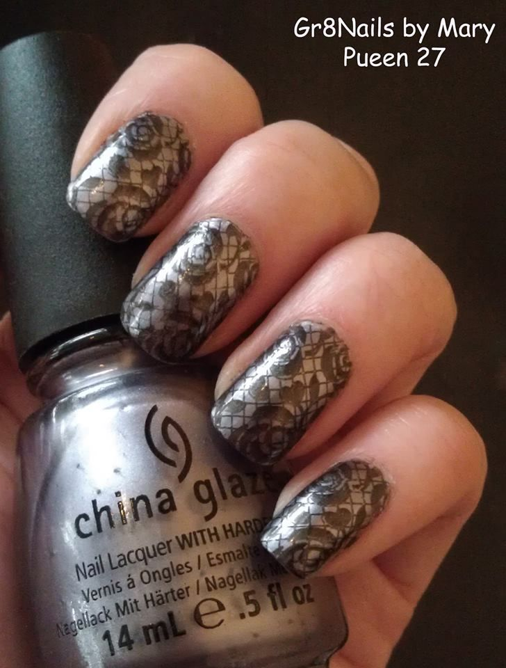 108 best pueen nail stamping images on pinterest belle nails stamping nail art with pueen prinsesfo Choice Image