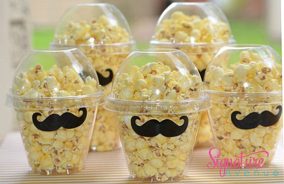 Mustache Party -Popcorn Box-Mustache Party Favor Box-Set of 12 on Etsy, $15.40