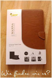 Wie finden wir es ???  : MANNA UltraSlim Universal-Schutztasche für Tablets...