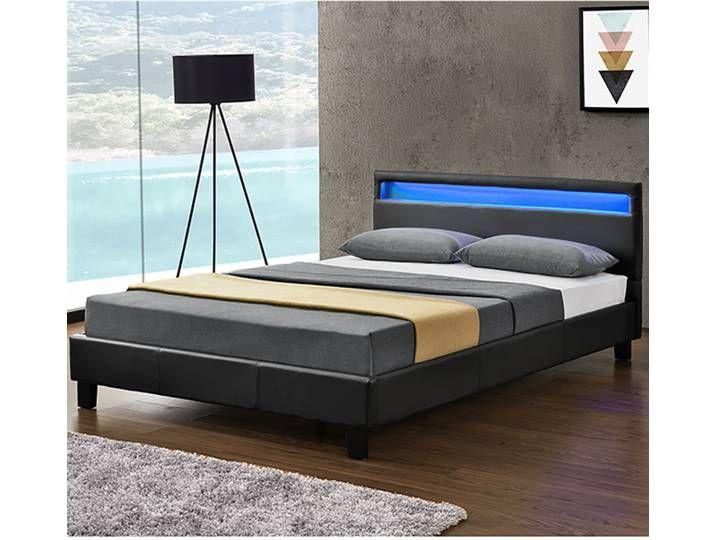 Artlife Polsterbett Verona 120 X 200 Cm Bett Mit Led Beleuchtung