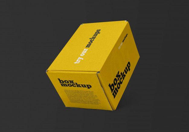Download Delivery Box Mockup Box Mockup Mockup Box