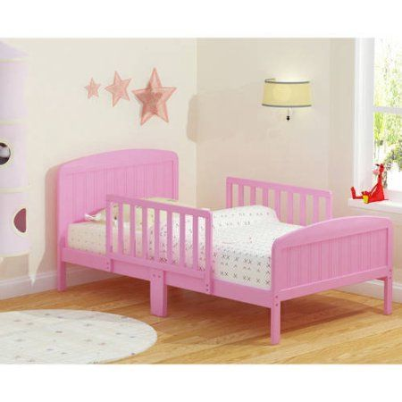 Rack Furniture Russell Children Harrisburg XL Guardrail Wooden Toddler Bed Choose Your Finish