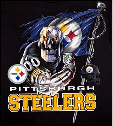 Pittsburgh Steelers ~skull