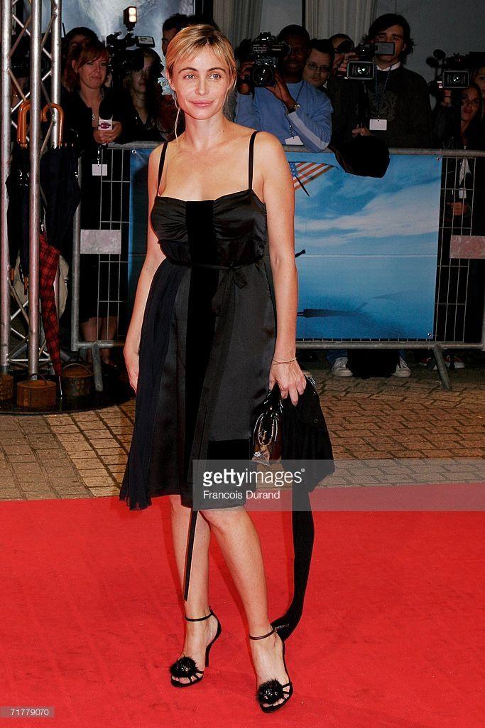 Photo d'actualité : Actress Emmanuelle Beart attends the premier for...