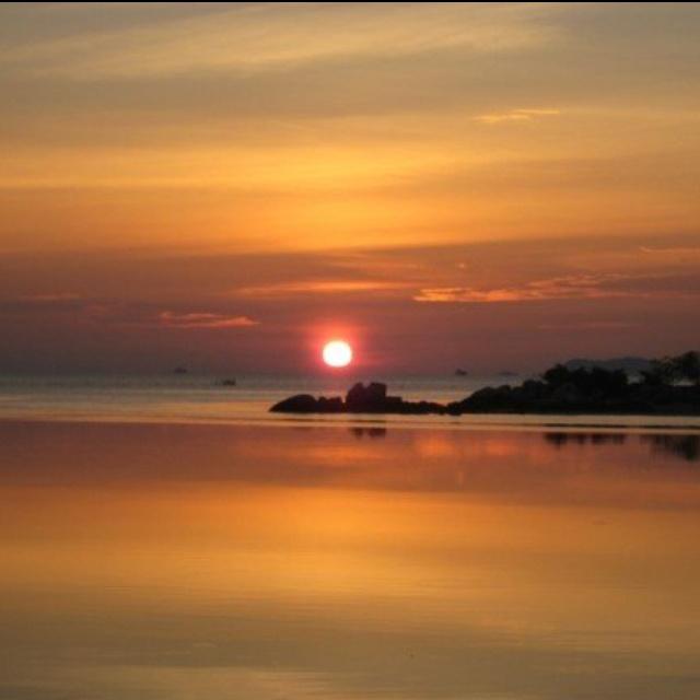 Sunset #Bintan Island Indonesia
