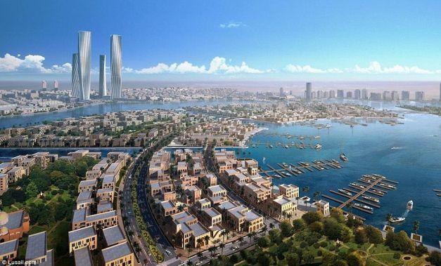 Cum va arăta oraşul viitorului din Qatar, construit pentru Cupa Mondială din 2022