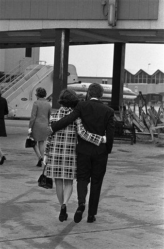 Ethel and Bobby Kennedy