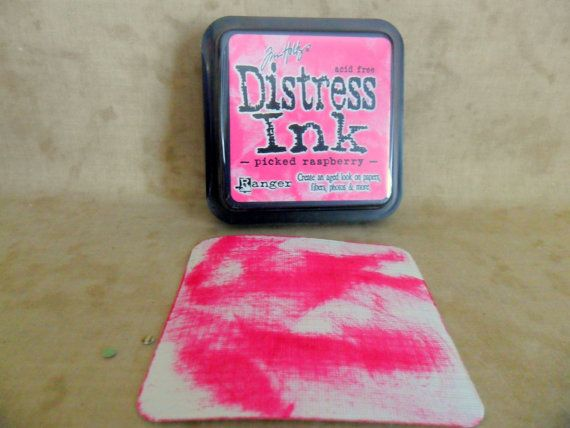how to clean distress stamp pads