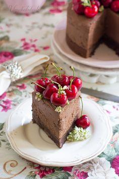 Cheesecake de chocolate sin horno | Cocina
