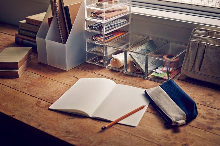 Declutter the desk!