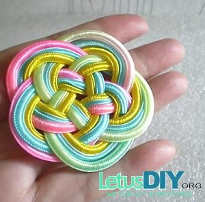 Homemade chinese knot coaster -----LetusDIY.ORG|DIY Everything here