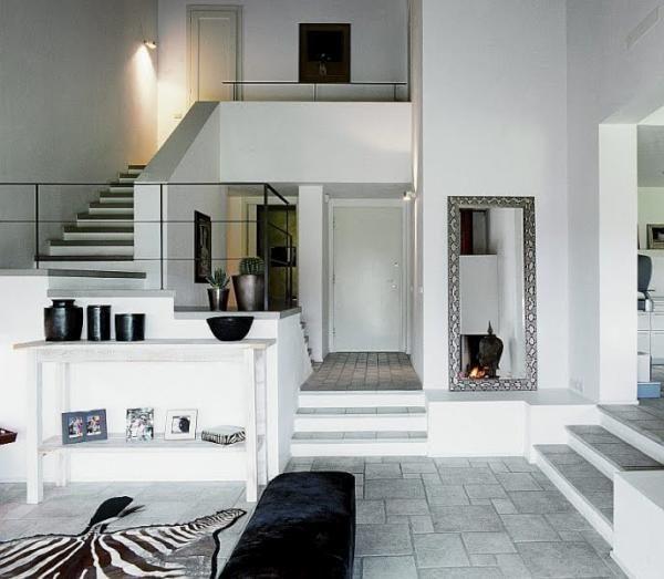 Ideas para casas a diferentes alturas. Cómo decorar casas escalonadas.