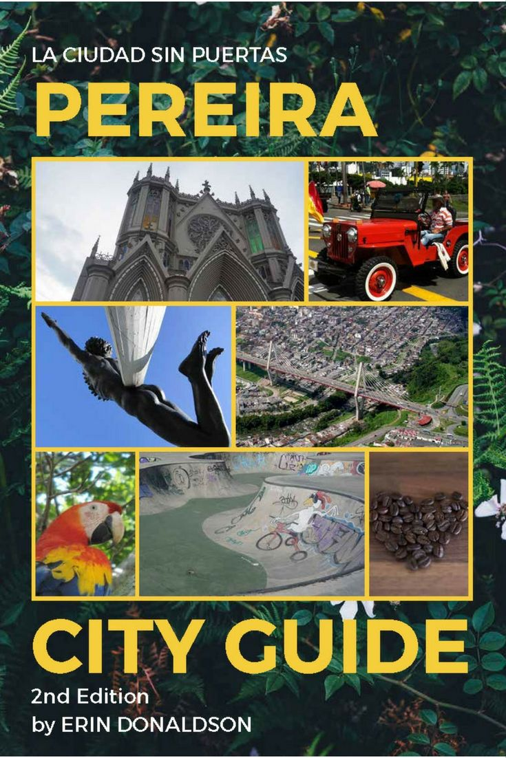 Pereira City Guide is an eBook with all the information you need in your pocket! Enjoy the Capital of the Coffee Region with this easy to read, up-to-date, graphic-rich ebook.