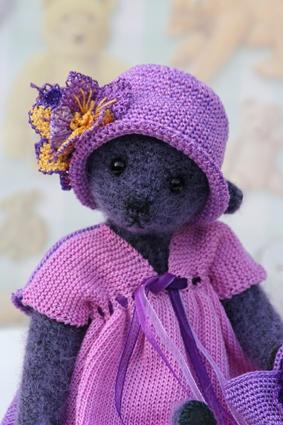 So sweet violet bear