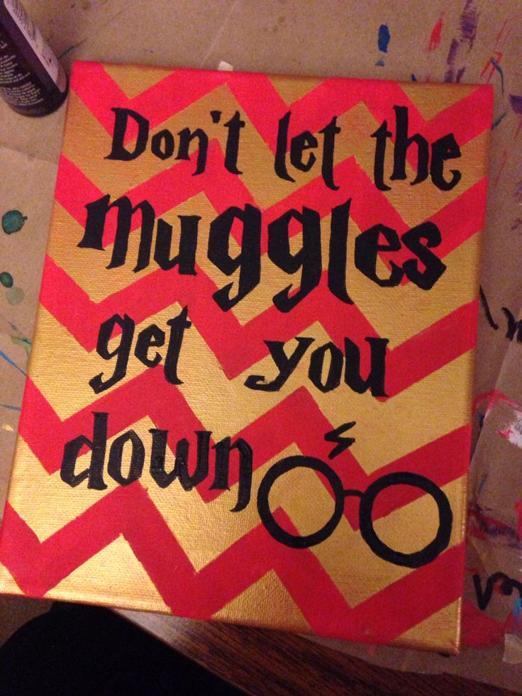 Harry Potter craft