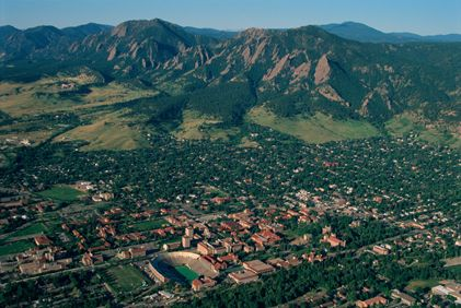 One of the best cities in the country and best places to go to school. Boulder.