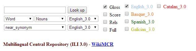 El 'diccionario semántico' Euskal WordNet, a disposición del público  La aplicación Euskal WordNet —desarrollada por el Grupo IXA (UPV/EHU)— ya puede consultarse y descargarse gratis. Se trata de la primera Base Lexical del Conocimiento (BLC) desarrollada para el euskera: un 'diccionario semántico' o 'almacén' que recopila y organiza información lexical y semántica.  http://www.basqueresearch.com/berria_irakurri.asp?Berri_Kod=5097&hizk=G#.U5rFCvldU3Q