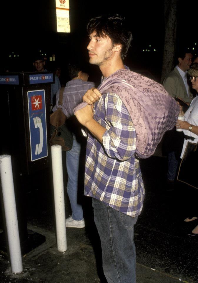 Keanu Reeves & River Phoenix