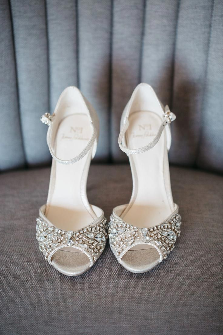 Popular Champagne wedding shoes cheap