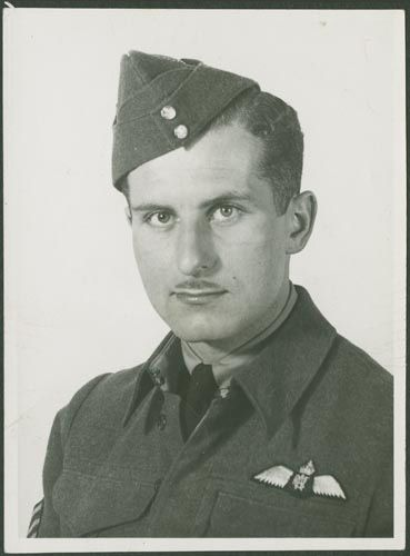 On September 8th, 1944, an RCAF aircraft was flying near the air training base at North Battleford, Saskatchewan when it went into a spin. Killed was Flight-Sergeant William Hashim, aged 24.